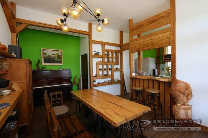 太魯閣澹雅居bnb 2樓 碧海 /雲天  2間大套房(可加床加人)  只接待一組客人 獨享空間