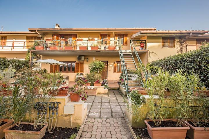 Romantic Giustiniana House Garden - Rzym - Dom