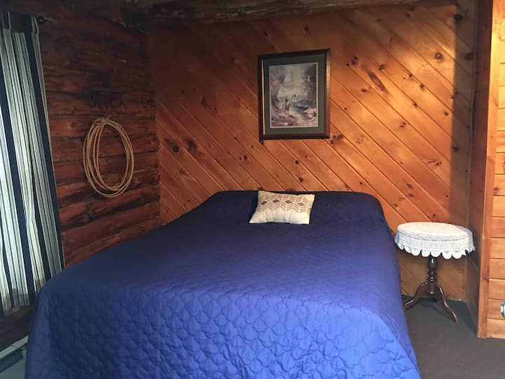 Cowboy Bedroom @ Lure Inn @ Hidden Acres