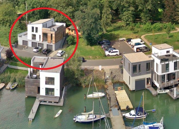 Haus am Hainer See für 12 Pers. mit Sauna + Kamin