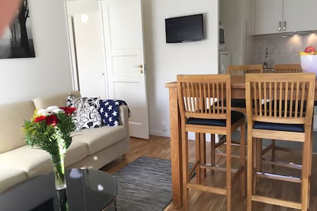 Newly renovated apartment suitable for couple - Stockholm - Guesthouse