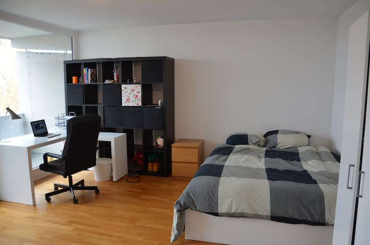 Spacious Room in Modern Apartment - München - Apartment