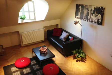 Letna DUPLEX apartment (Just walk!) - Prague - Apartment