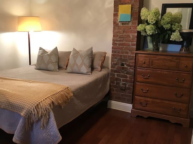 Comfortable Furnished Bedroom and sitting area
