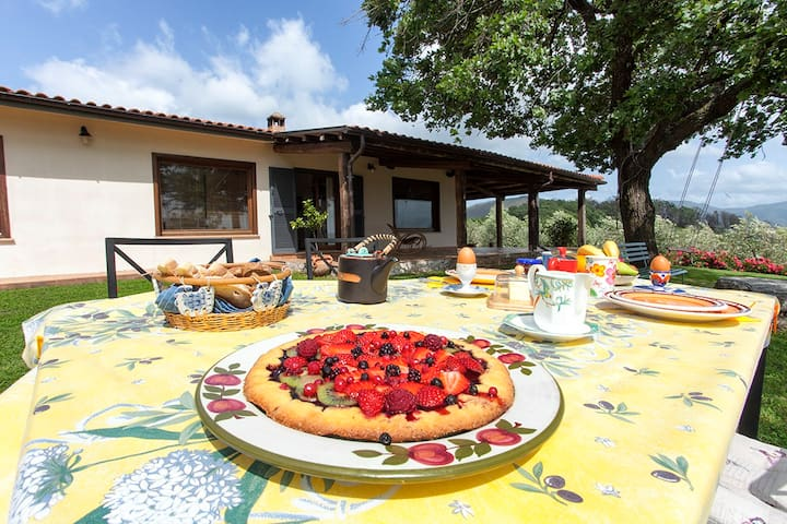 Relax in Sabina - the home on hill close to Rome - Poggio Nativo - Gastsuite