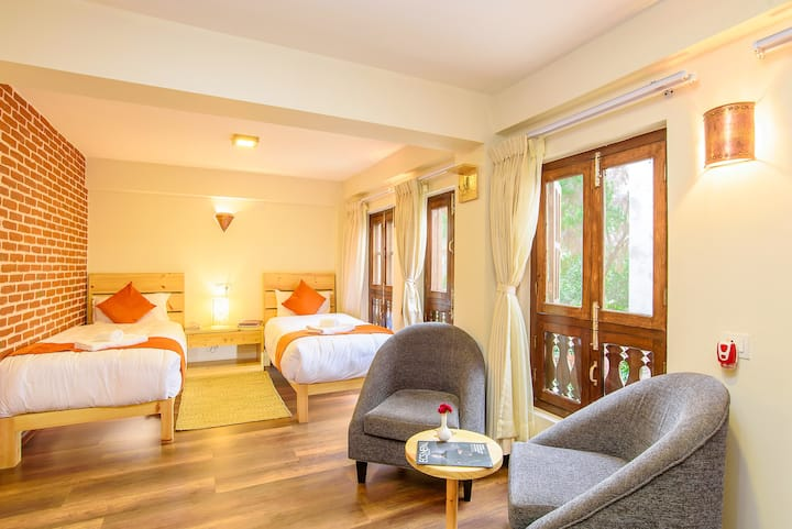 HOTEL TIMILA Newa comfort home twin bedroom C