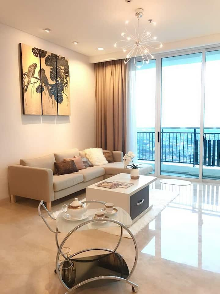 Spacious Apartment with amazing view and complete