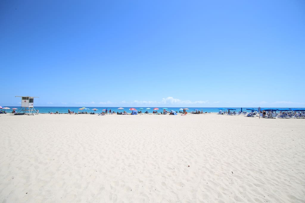 Dig toes into white sand beaches and swim in cool waters when you spend your day oceanside!