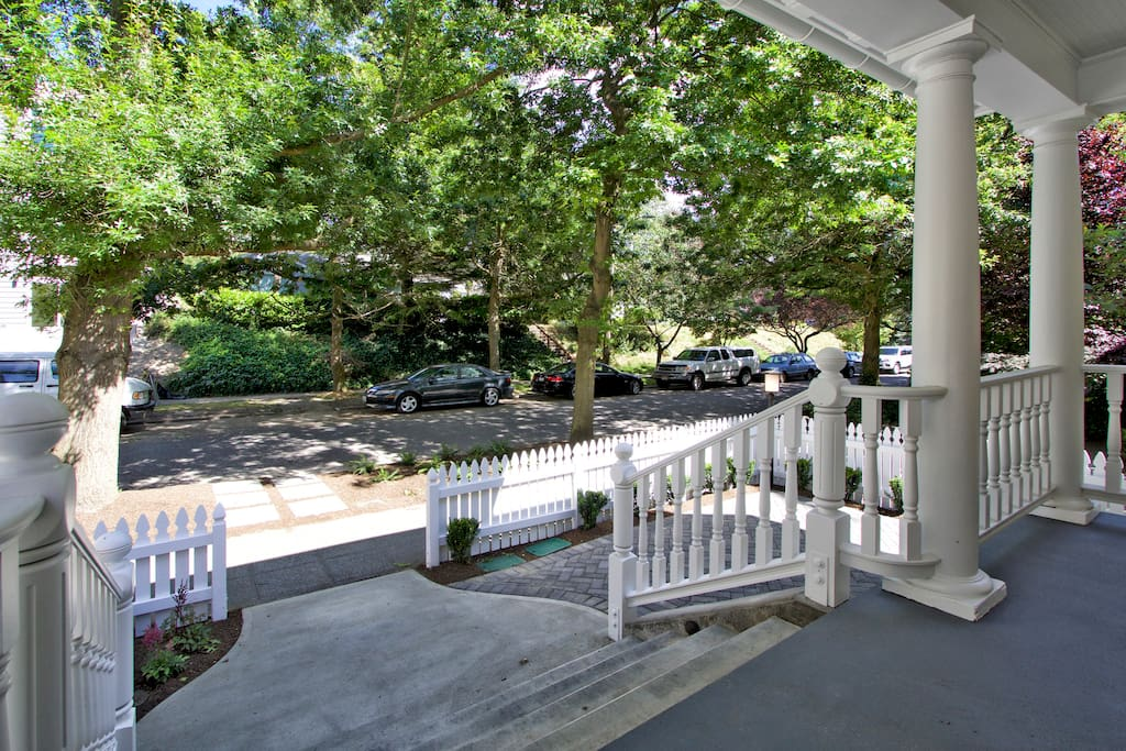 Street View From Porch