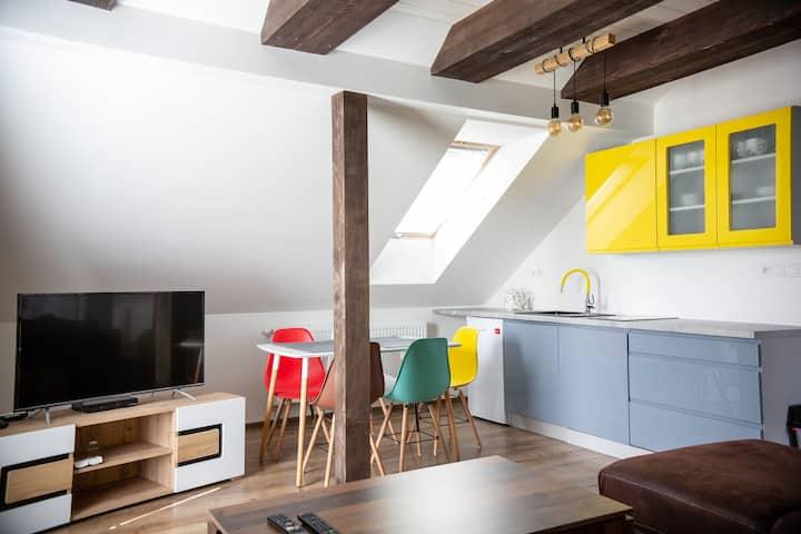 Apartmány pod Klingerom -Entrambi gli appartamenti