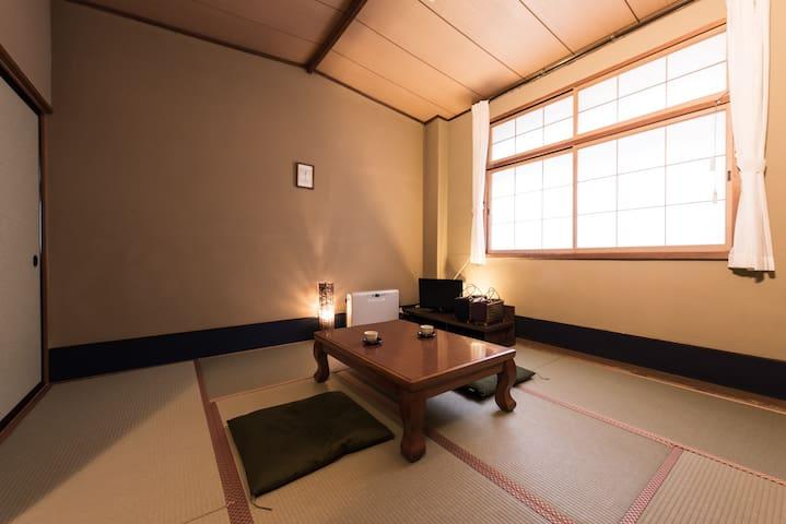 山景の宿 流辿 和室8畳間 - Kawasaki-machi - Annat