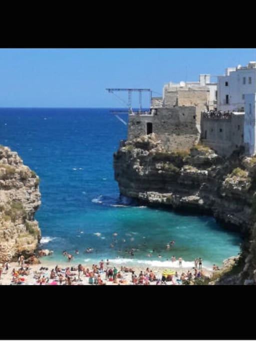 You will be 5 minutes to Polignano a Mare , Red Bull...