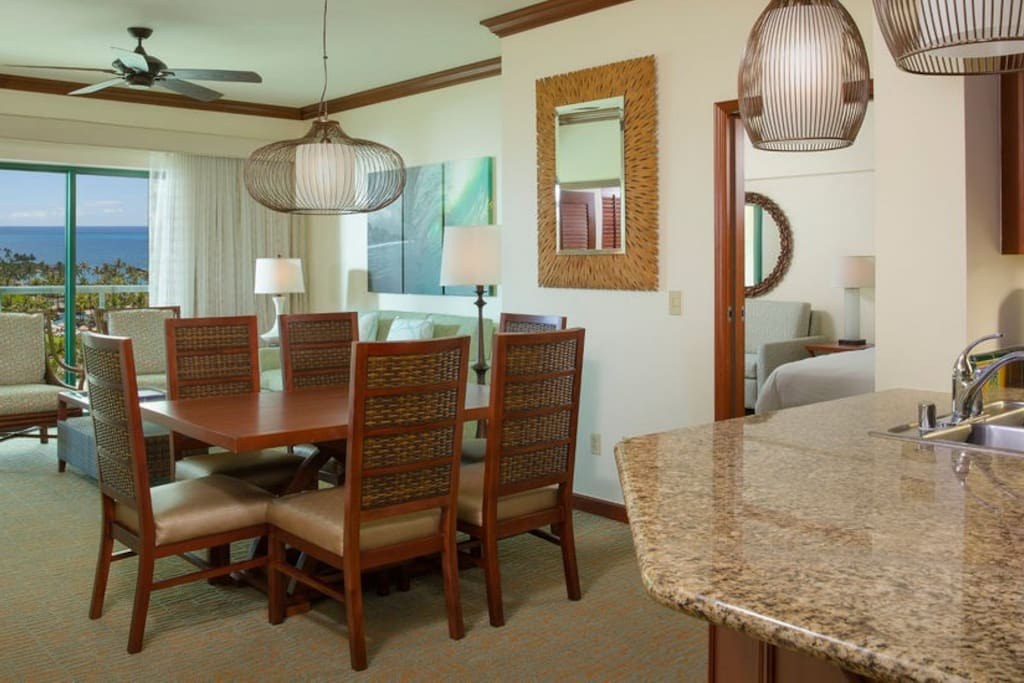Our Ko Olina beach villas offer all the comforts of home in a tropical island paradise.