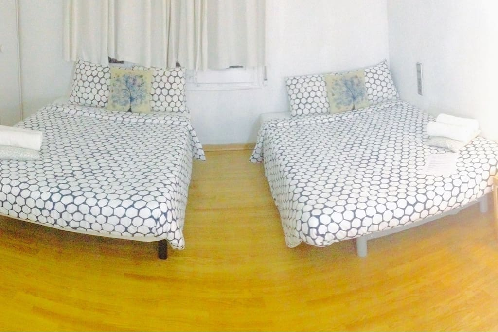 Double Big Room Double Beds ❤️ Lovely Room Private!