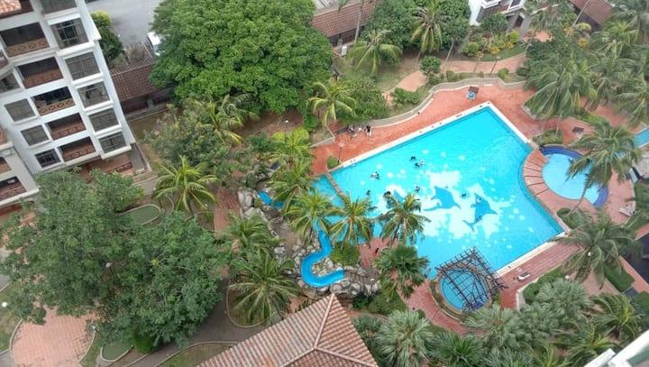 VioMaxs Mahkota 1 Bedroom/Pool view/ 13th Floor