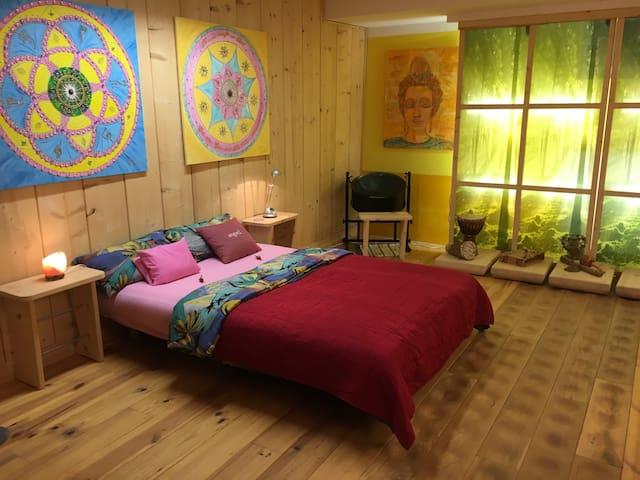 Schlafzimmer Farbidee