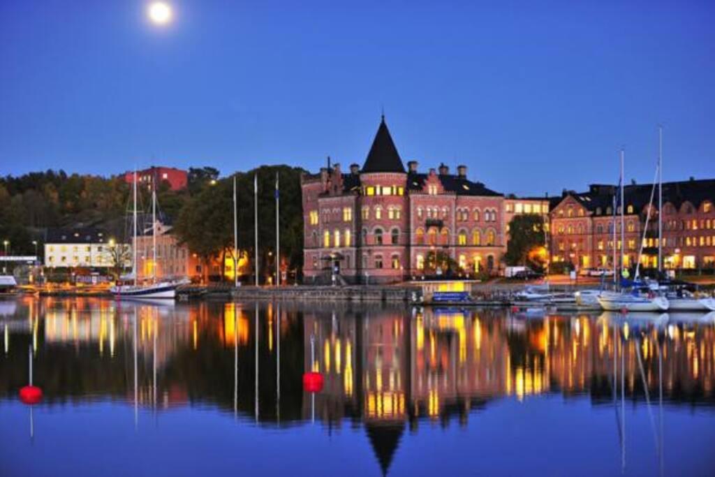 Gustavsberg harbour