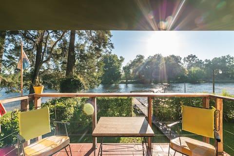 Casa súper confortable sobre el río @ Delta Tigre
