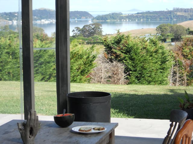 strawberry farm with breath-taken sea view - Mangonui - Rumah