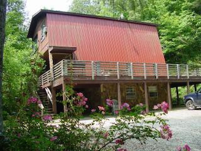 The Chalet House in the Nantahala Gorge