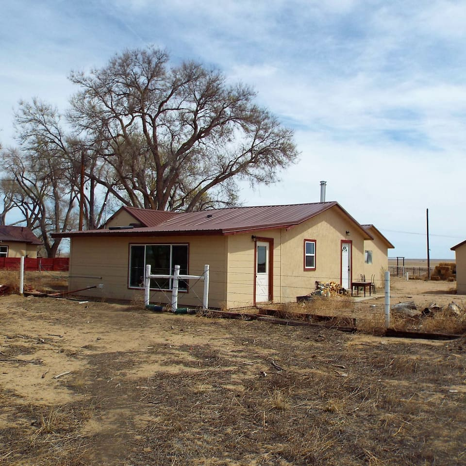 THE OLD BUNKHOUSE AT TRAINOR RANCH