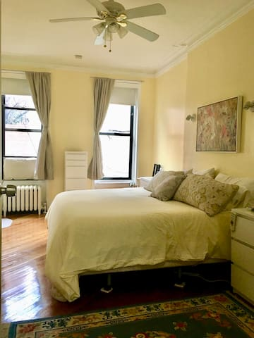 Charming Family Style Brownstone Apartment