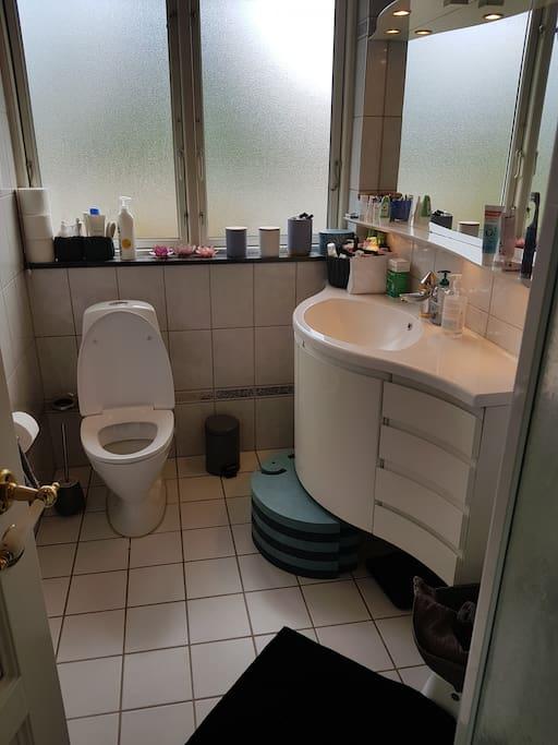 Nr 1. Toilet/bad