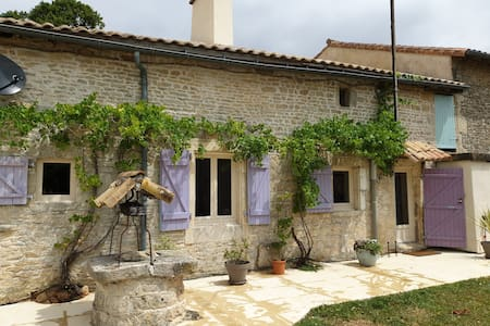 Charming Charante Farmhouse 30mins from Poitiers