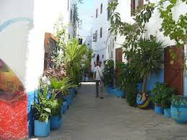 Appartement agréable à Asilah dans une marina golf - 阿爾西拉(Asilah) - 公寓
