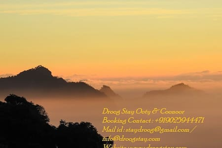 Droog Home Stay, Coonoor, The Nilgiris.