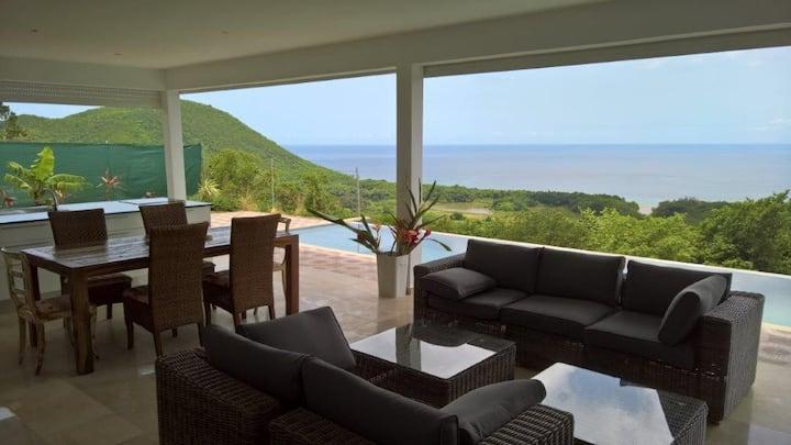 Villa Savane Paille 3.1 - grande-anse - Deshaies