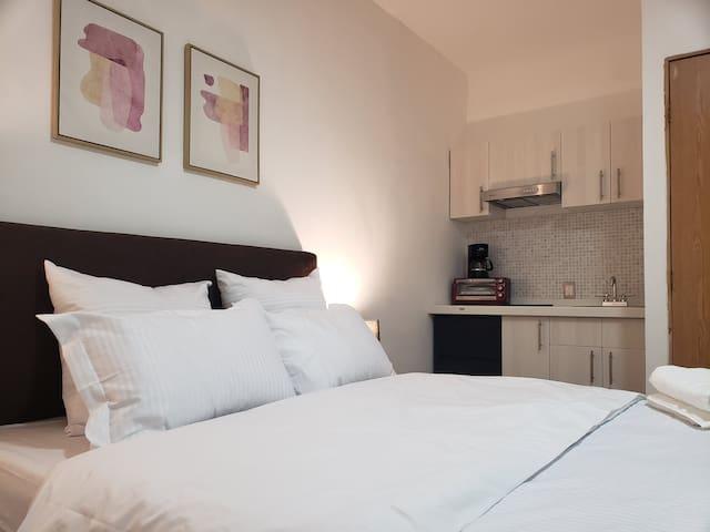Confortable Suite C/ Cocineta equipada y wifi