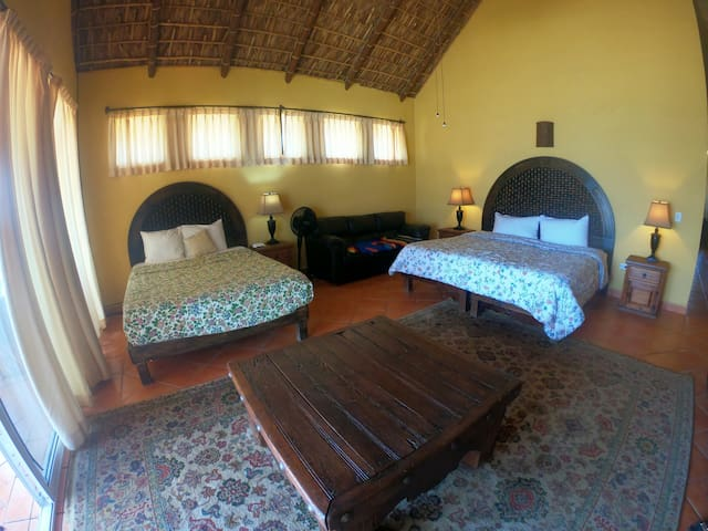 Master Bedroom Suite King and Queen Beds