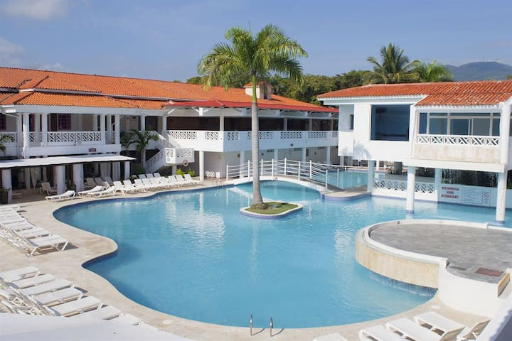 Apartment , Hotel Beach House - Puerto Plata - Daire