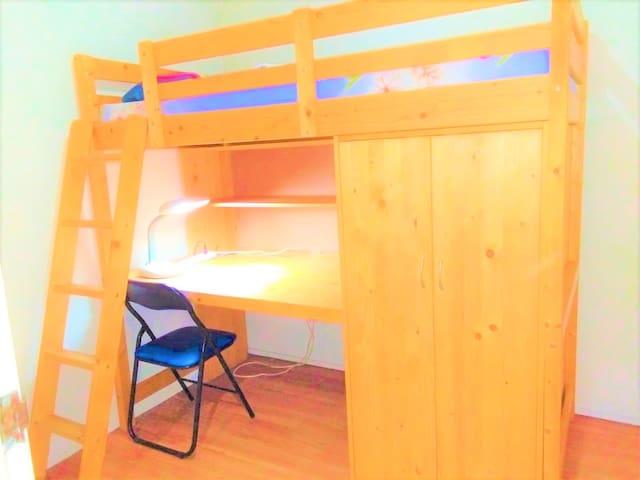prewar2 loftbed room3 > lavender MRT
