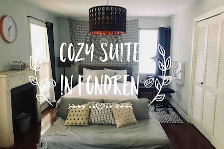 QUIET, COZY W/ PRIVATE BATH IN HISTORIC FONDREN!!