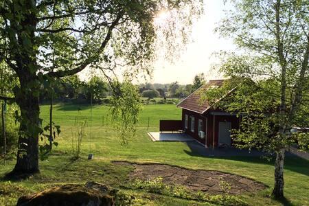 Modern hideaway in Swedish countryside