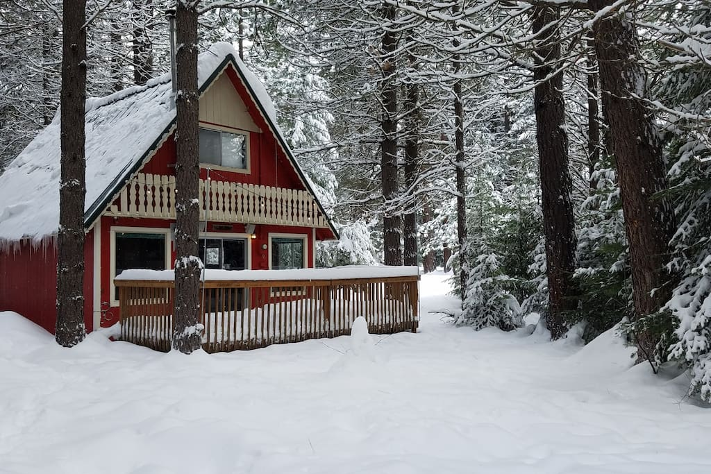 Cozy cabin leavenworth stevens pass cabins for rent in for Leavenworth cabin rentals