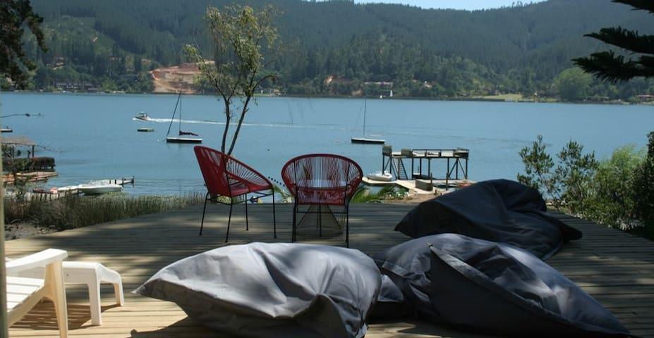 Casa orilla de lago Vichuquen