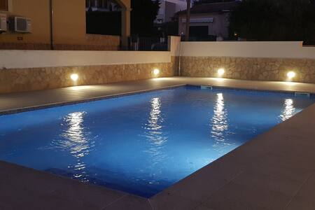 House pool 300 m from the sea in Sa Ràpita-Trenc