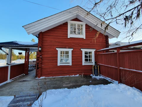 Mysig stuga med magisk vy Cosy cabin with ++view