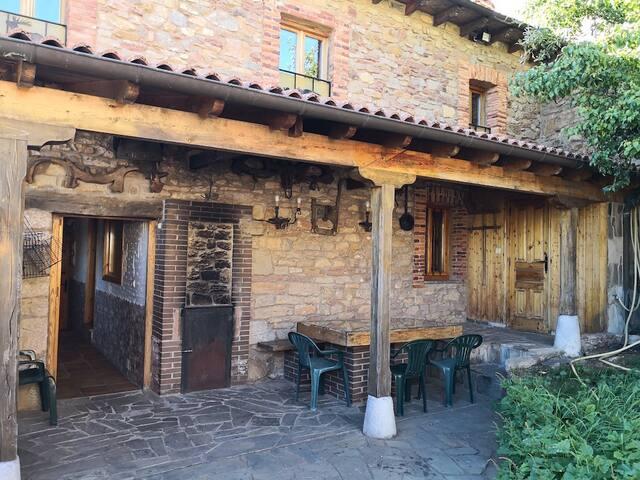 Casa rural con encanto en Cordillera Cantábrica
