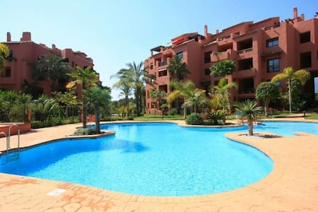 Marbella beach apartment for families and golfers - Marbella