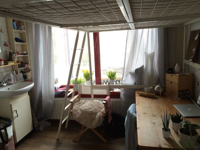 bright room, close to the station - Groningen - Pis