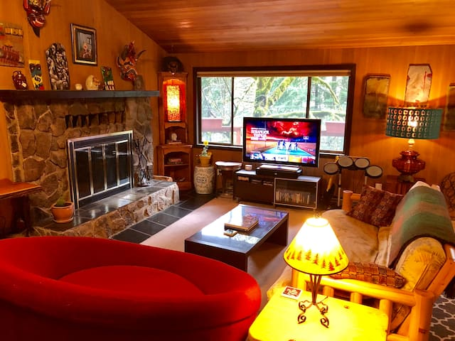 Private Split Level Home in the Woods - Top Unit