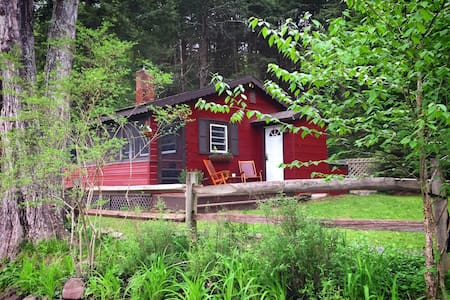 Huckleberry Cabin in the Catskill Mountains!