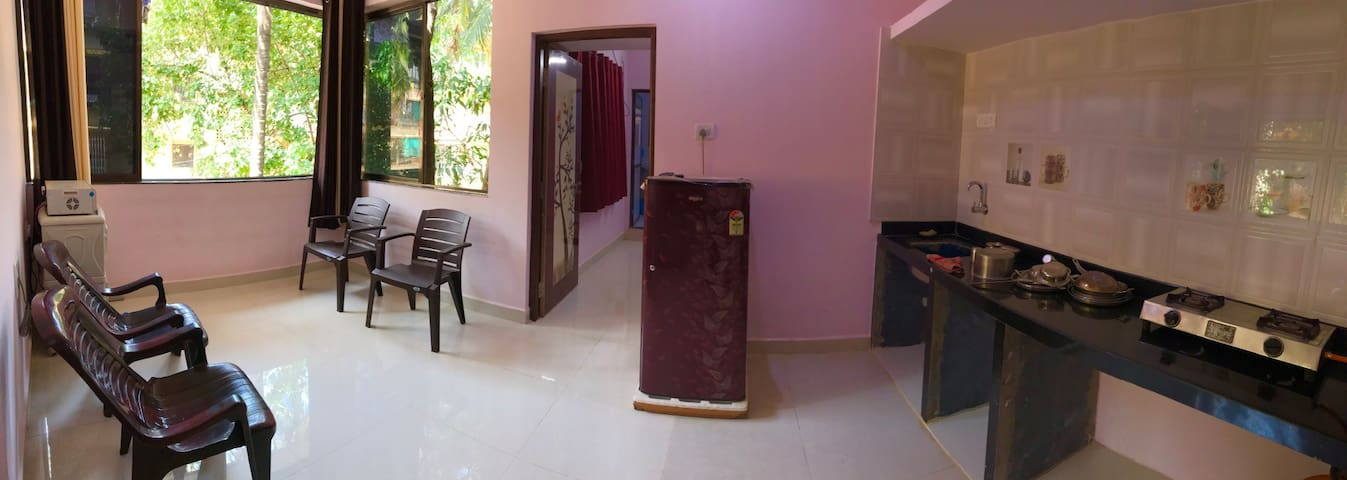 Mapusa Goa affordable single bedroom with AC