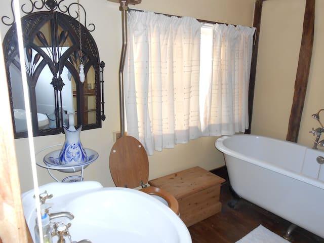 Luxurious Double Bedroom & Bathroom (Character)