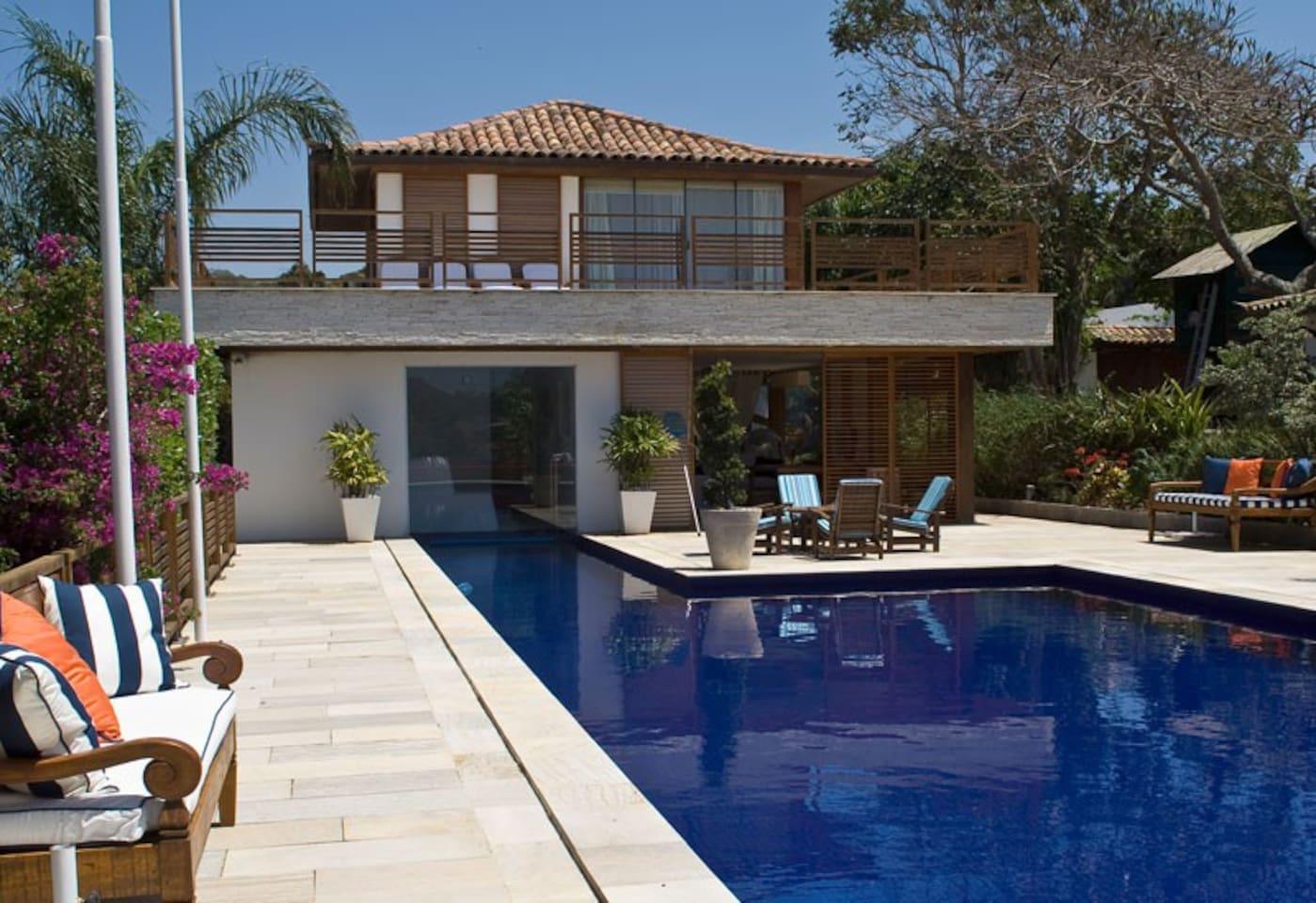Area de Lazer, piscina, sauna, jacuzzi....