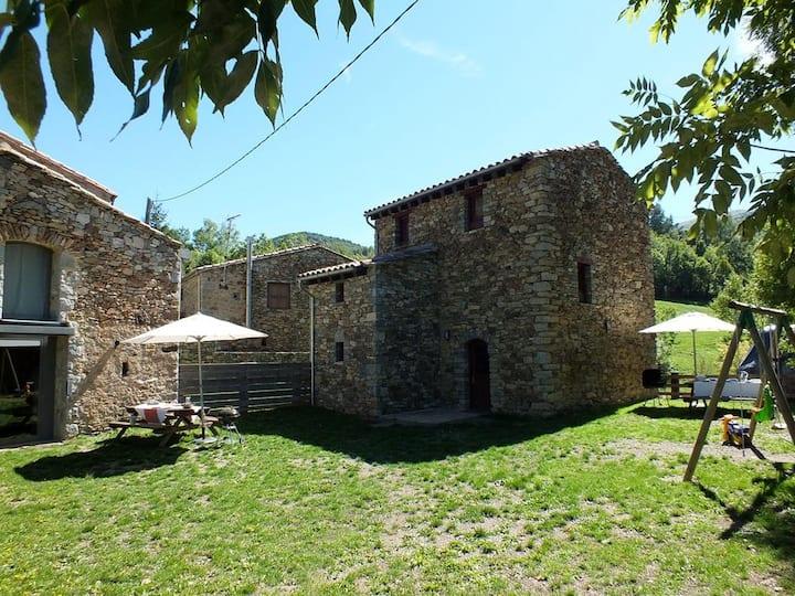 Mountain cottage, Catalan Pyrenees.